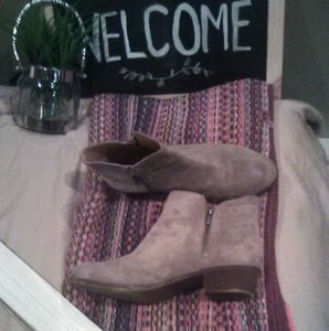 Lucky Brand suede bootie